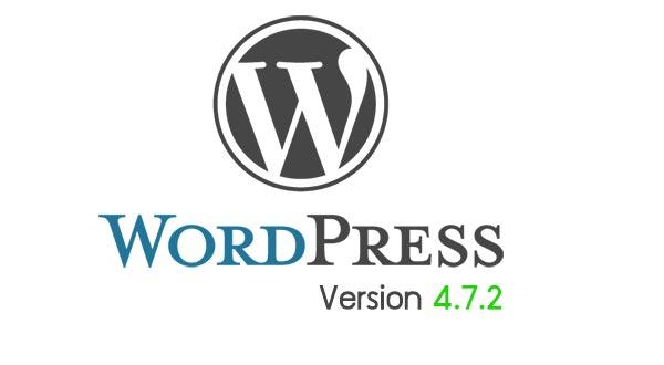 WordPress ออกเวอร์ชั่นล่าสุด 4.7.2 อัพเดทความปลอดภัย