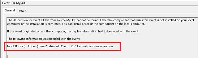 วิธีแก้ไข XAMPP MySQL shutdown unexpectedly ที่ติดตั้งบน Windows 10